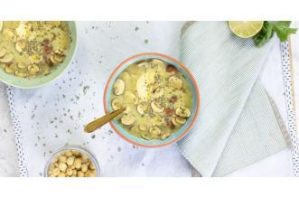 Kippensoep met champignons