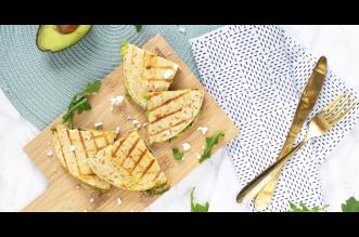 Avocado quesadilla