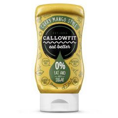 Suikerarm | CALLOWFIT | Curry Mango Saus | Dieetwebshop.nl