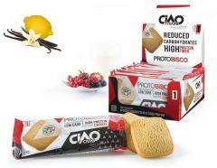 CiaoCarb | protobisco vanille citroen | eiwitrijk dieet