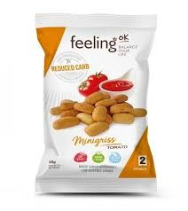 Koolhydraatarme Mini Soepstengels Tomaat | Feeling OK Minigriss | Eiwitrijk Dieet | Protiplan