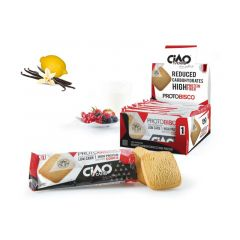 Protobisco Vanille Citroen   Proteine Koek   Ciao Carb