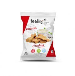 Eiwitrijke Crackers Naturel | Feeling OK | Eiwitrijk Tussendoortje | Protiplan