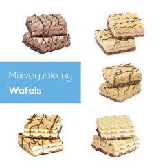 Wafels Mixverpakking | Proteine Wafels | Protiplan.nl