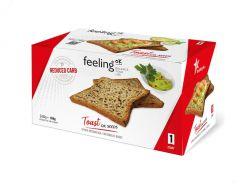 Eiwitrijke Toast Oliezaden | Feeling OK Start | Koolhydraatarm Dieet | Protiplan
