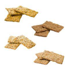 Crackers | Proefpakket | Eiwitrijke Crackers | Protiplan.nl